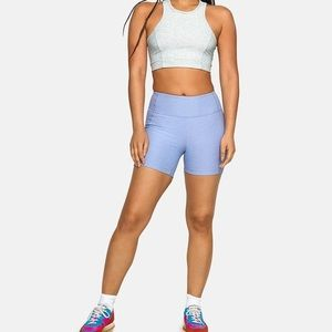 Outdoor Voices Lilac/Lavender Warm Up Shorts